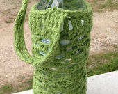 Cotton Water Bottle Cozy and Carrier