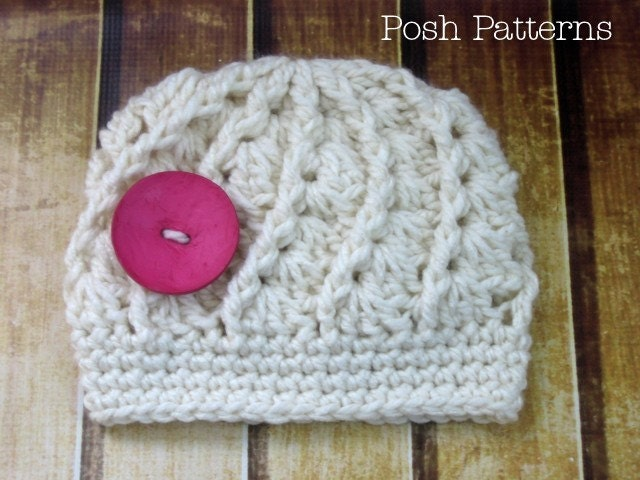 Crochet Baby Turtle Hat And Shell Pattern Free : Crochet PATTERN Spiral Shell Hat Crochet Hat Pattern