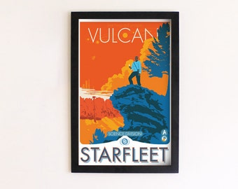 Starfleet Science Print