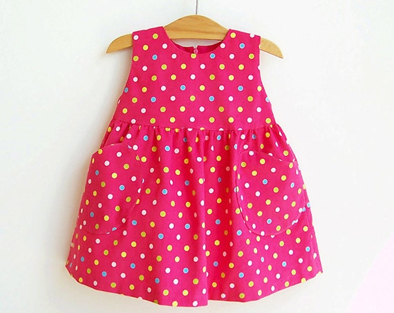 YUMMY Dotted Baby Girl Overall Dress pattern Pdf sewing pattern ...
