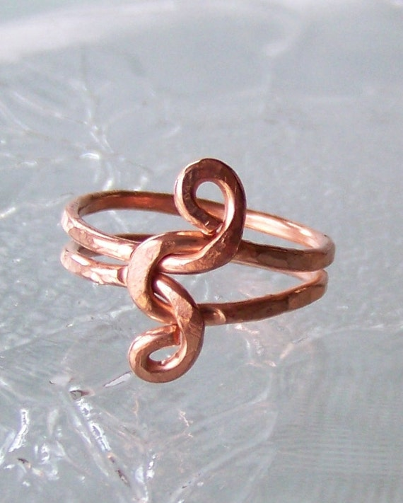 how to make wire rings with words