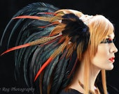 Custom Feather Headdress - Ishtar Feather Headdress