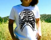 Rib Cage Bird Cage Kids' T-Shirt