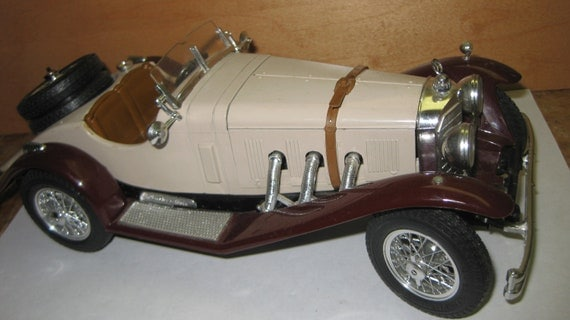 1928 mercedes benz ssk burago special collectible model on for Mercedes benz ssk 1928 burago