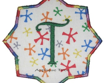 Instant Download Frame 8 Machine Embroidery Applique Design 4x4, 5x7 and 6x10