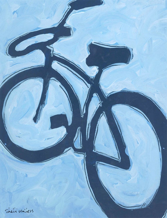 Unavailable listing on etsy for Bicycle painting near me