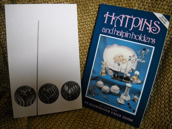 Hatpin Collector's Books, One Aitographed by Author