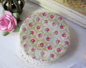 Yellow Provence Plate for Dollhouse