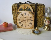 Antiqued Clock Face for Dollhouse