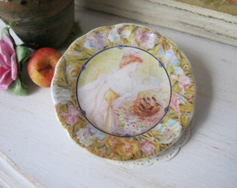 Morning Song Plate for Dollhouse