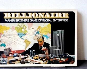 1973 Parker Brothers Board Game, Economic Global Enterprise Man Cave Vintage Collectible