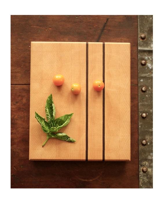 "End Grain Maple Cutting Board 8.5""x10"""