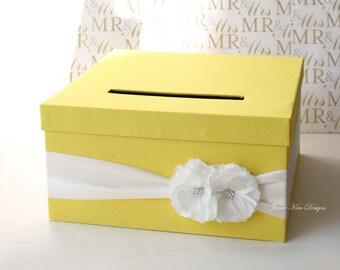 Wedding Card Box, Money Holder, Wishing Well - Custom Made to Order