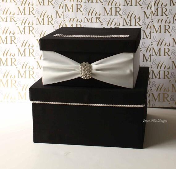 Wedding Gift Cash Check Or Gift Card : Wedding Card Box Money Box Gift Card Holder by jamiekimdesigns