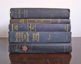 vintage book collection BLACK STACK edition