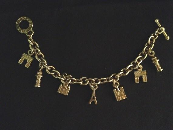 Agatha Paris Parisian Landmark Charm Bracelet