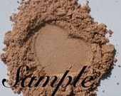 Sample of all natural foundation . Champagne for Medium Warm Skin Tone