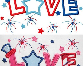 my first 4th of july embroidery design instant download