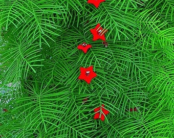 Red Cypress Vine Seeds a.k.a. Hummingbird Vine or Star Glory