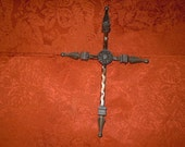 Foggia   Wrought Iron Cross  90012