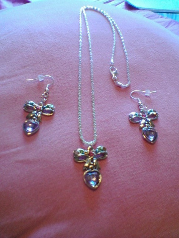 Necklace and Earring matching SET