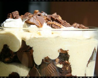 Peanut Butter Brownie Trifle Recipe~~~Instant Download~~~Back by Request