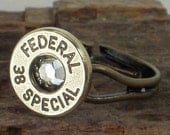 Bullet Ring - Federal 38 SPL - Crystal