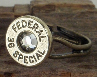 Bullet Ring - Federal 38 SPL - Crystal