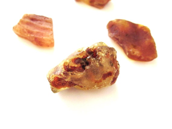 Amber Natural Rough Raw Set of 4 Pieces (Lot no. 1004)