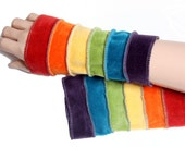 Arm warmers - Rainbow