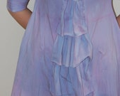 reserved Custom order /hand dyed dress/murMur
