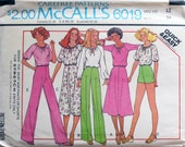 Dress Pattern for Knits McCalls 6019 1978