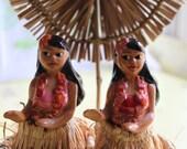 Hula Girl Salt and Pepper Shakers