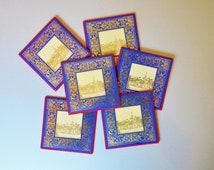 Kinloch Rannoch Balmoral Castle Celtic Coasters Table Mats Set of 6 Scotland Rollo Product Gold Filagree