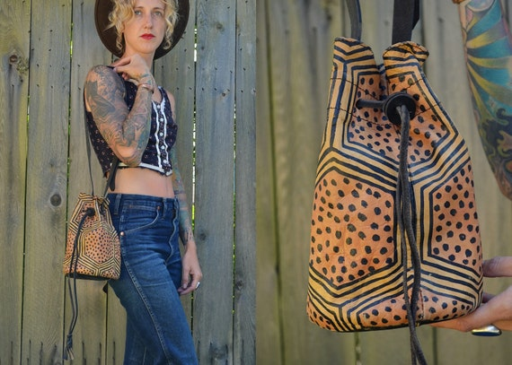 Amazing Vintage South African Safari Witch Doctor Medicine Purse