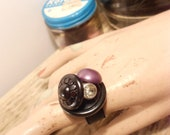 Tranquil Button Ring
