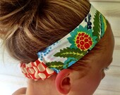 Amy Butler Reversible Headband - Ladies or Girls - 16 plus fabrics to chose from- Free Ship to US