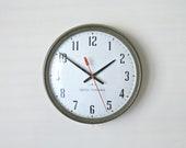 Vintage Seth Thomas Acrotyne Wall Clock - Industrial, School