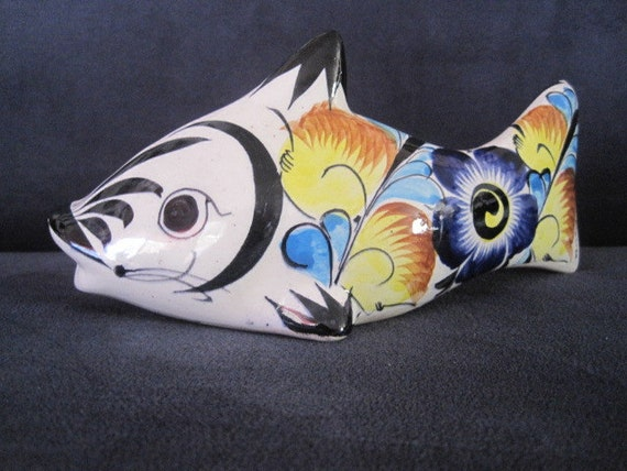 Hand painted Koy fish from mexico