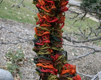 Colors of Autumn Ruffled Scarf
