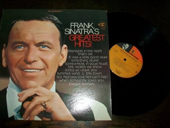 Frank Sinatra's Greatest Hits Record Album Warner Bros Reprise FS 1025