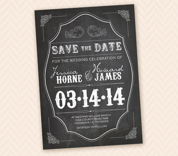 design save the date