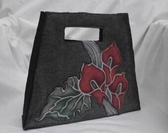 Handbag Funky Felt custom