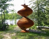 Silent Wind Chime, wind spinner, spinner, wood spinner, rustic, patio