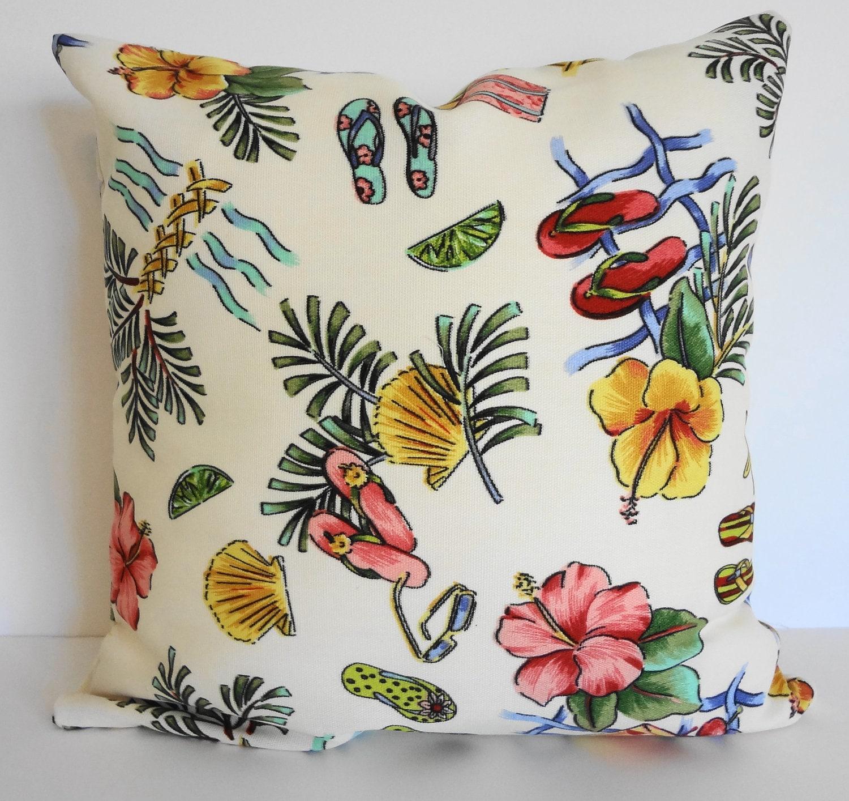 Outdoor Beach Throw Pillows : Indoor / Outdoor Beach Decorative Throw Pillow Richloom