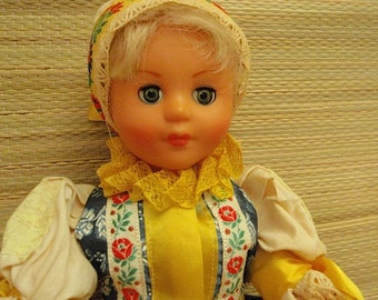 Doll From the Czech Republic Mid Century