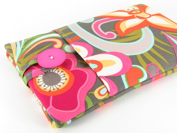 Google Nexus 7 Case, Nexus Case, Nexus 7 Sleeve, Nexus 7 Cover, Nexus Sleeve, Padded, Pocket - Beautiful Colorful Fun Flowers