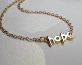 Hope Necklace, Simple Everyday jewelry - Jewelry under 25, Minimal Jewelry, winter Jewelry - delicate dainty jewelry