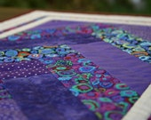 Celebration Quilted Table Runner - Purple/Violet Table Runner
