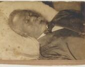 Post Mortem African American ID'd vintage original cabinet card